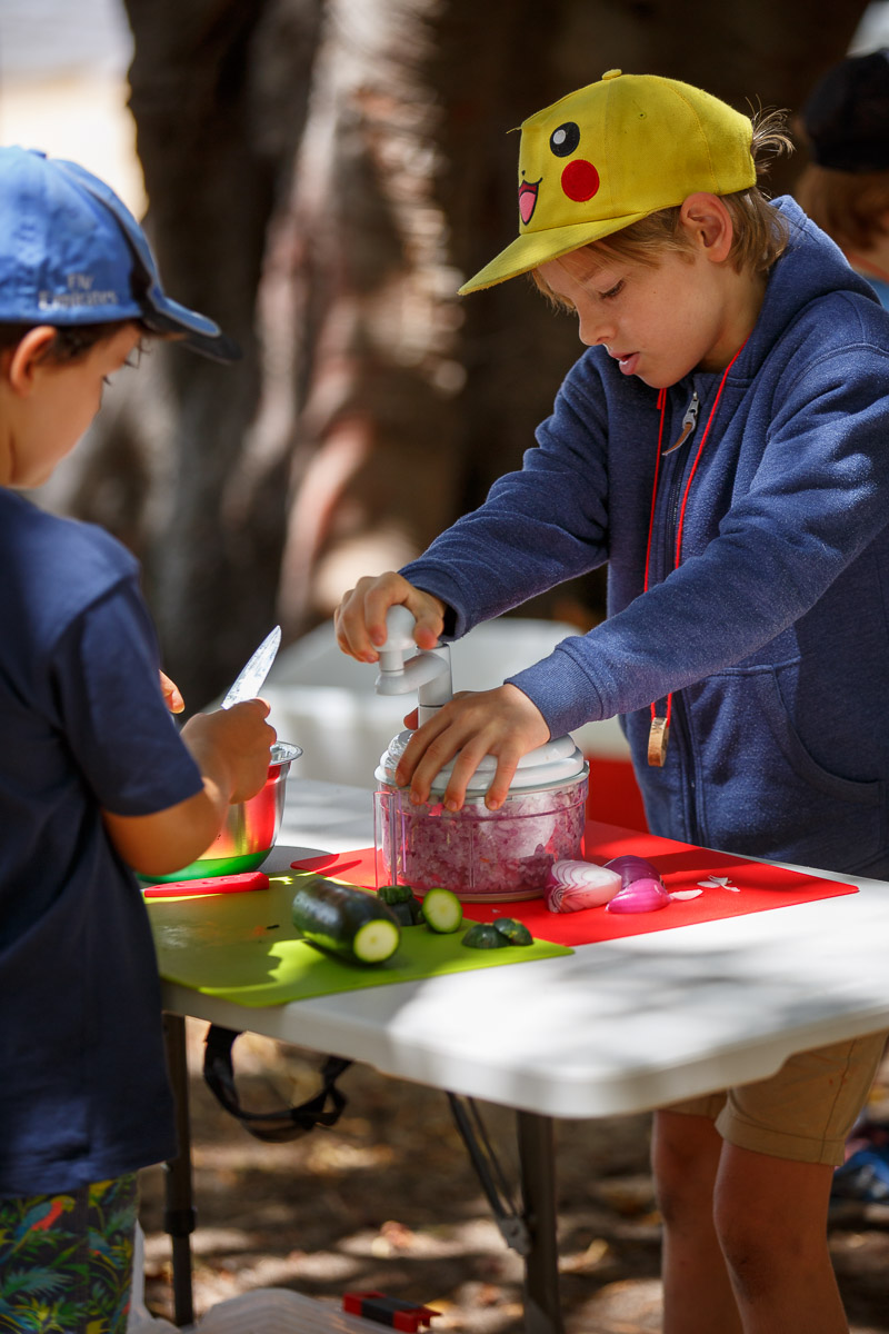 We Cook Our Food - School Holiday Programs Perth - Educated by Nature