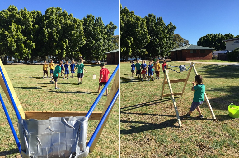 Large Scale Play - Proprioception Development