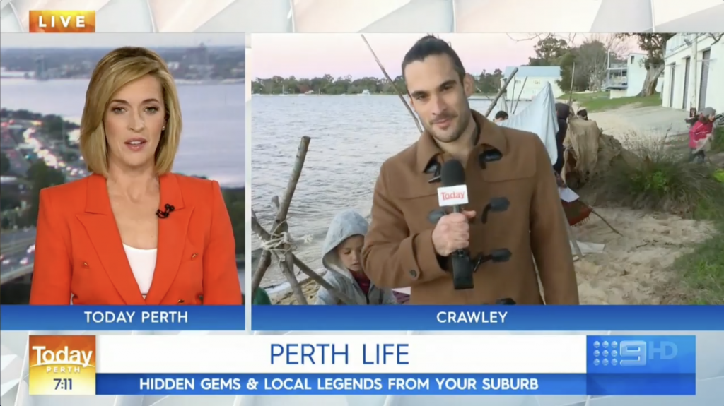 Educated by Nature on Channel 9's Today Show - Perth Life - Educated